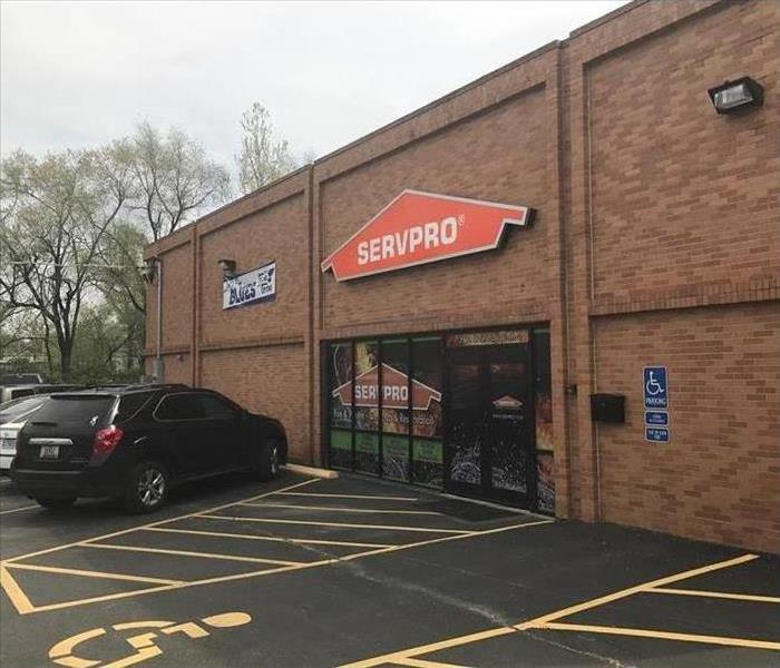 Photo of the SERVPRO office (outside)